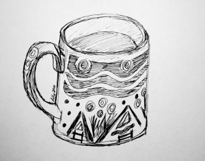 Coffee Cup by Lily Mulholland